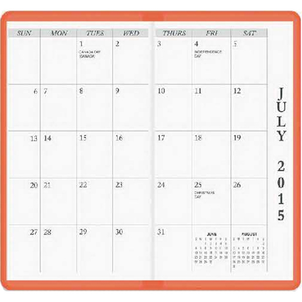 Academic Planner July Through August Of Following Year Photo