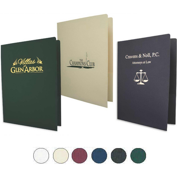 Premium Stock - Legal Linen Presentation Folder Photo