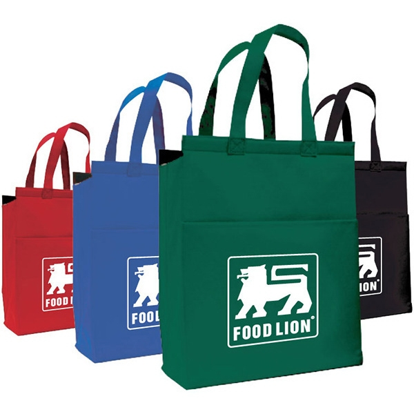 Boston - Medium Cooler Tote. Hot/cold Lining With Velcro Top Closure Photo