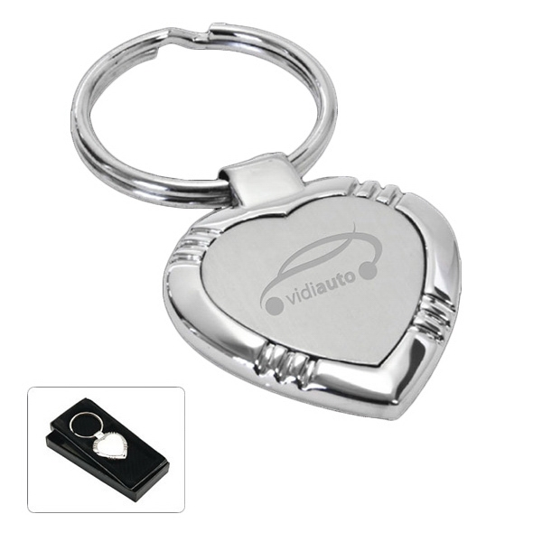 Cupid - Heart Shaped Key Tag Photo