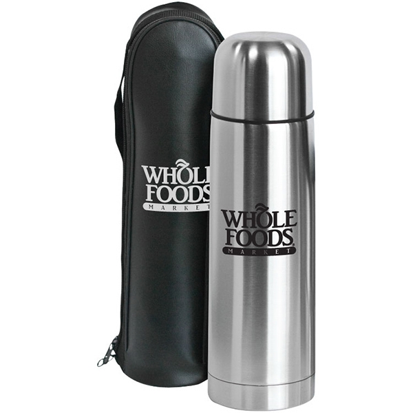 Clayton - 12 Oz Bullet Stainless Steel Vacuum Bottle. Lid Doubles As A Serving Cup Photo