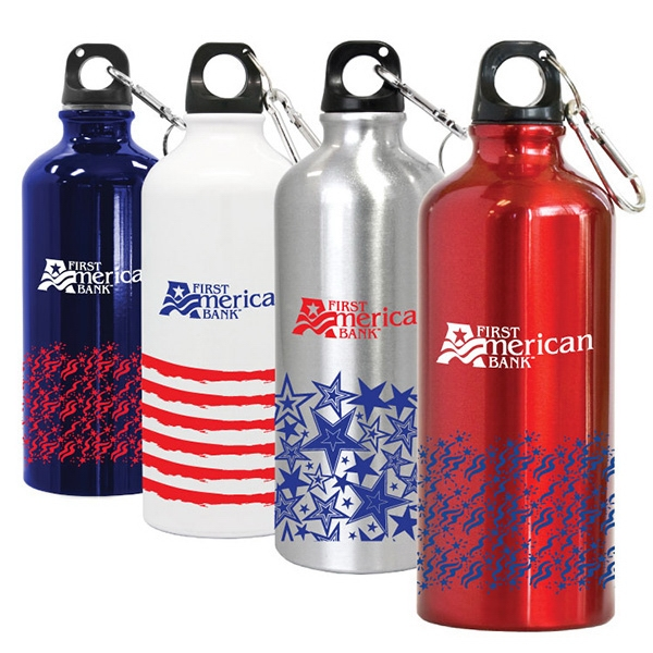 20 Oz. Aluminum Sports Water Bottle Photo