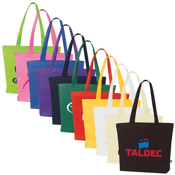 Isle - Open Tote Bag With Handles. Large Capacity. Recyclable Photo