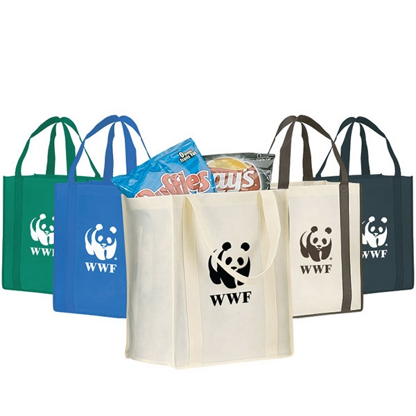 Canary - Eco-friendly Large Shopping Tote With Drop-in Board Photo