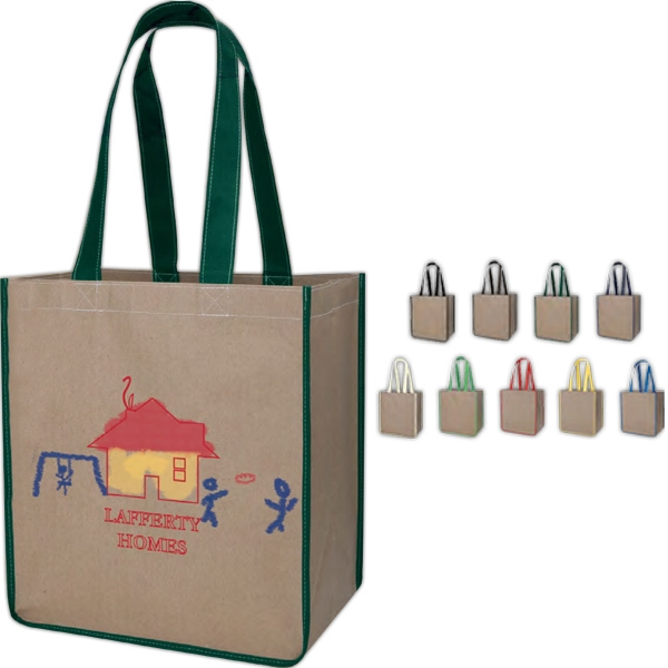 "Kraft Sack With 24"" Handles Photo"