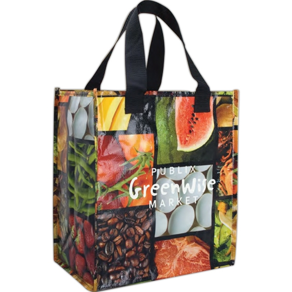 Photograf X  (tm) - Grocery Tote Bag With Printed Polypropylene Photo