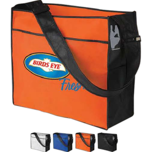 "Poly Pro - Silkscreen - Polypropylene Sling Tote Bag With 48"" Adjustable Strap Photo"
