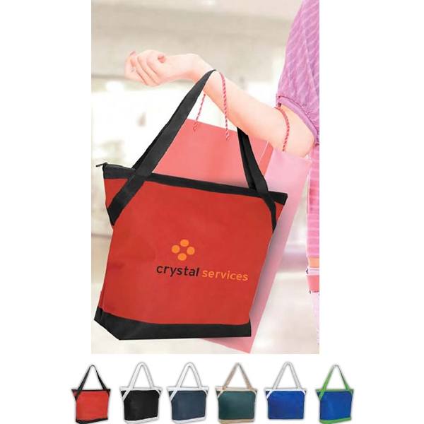 "Poly Pro Riviera - Vivid Expressions (tm) - Polypropylene Tote Bag With 25"" Handles Photo"