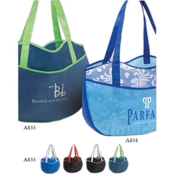 "Poly Pro Leisure - Non Woven Polypropylene Tote Bag With 22"" Handles Photo"