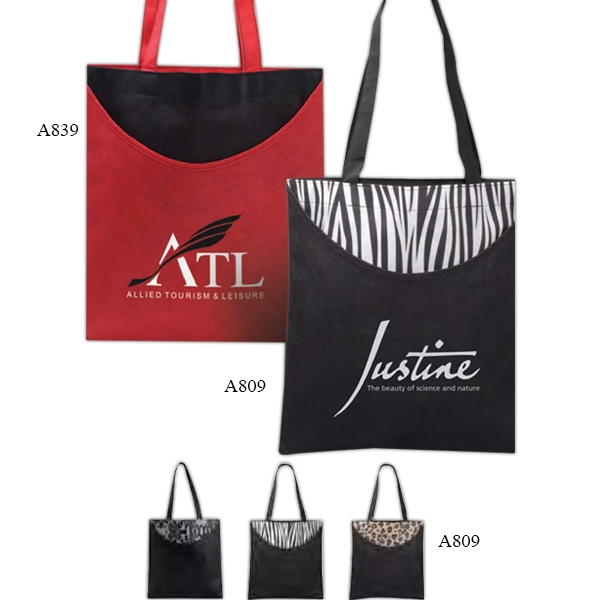 Poly Pro - Polypropylene Printed Scoop Tote Bag Photo