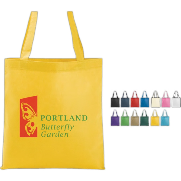 Poly Pro Flat - Silkscreen - Polypropylene Flat Tote Bag Photo