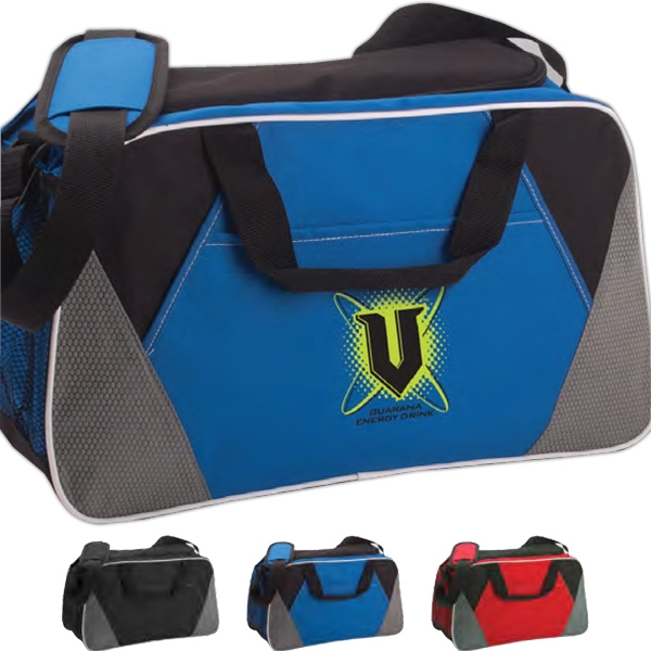Trophy - Vivid Expressions (tm) - Duffel Bag With Side Mesh Pocket Photo
