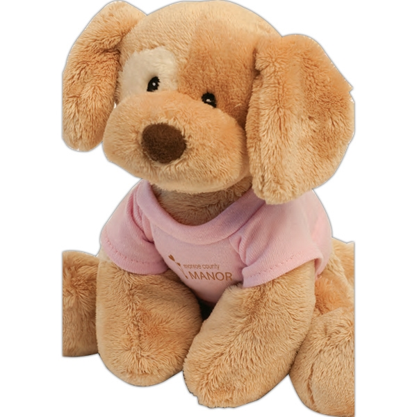 "Gund (r) Riley - Stuffed Toy Dog With Overall Size 8"" Photo"