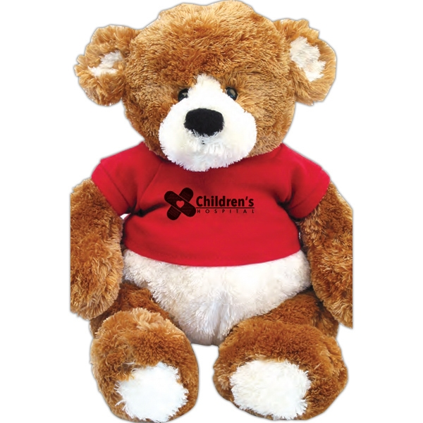 "Gund (r) Spencer - Teddy Bear, 15"" With Sitting Size 9.5"" Photo"