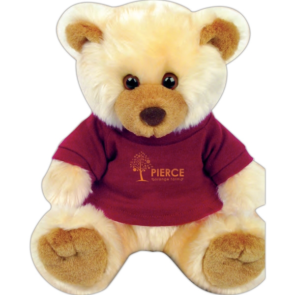 "Max Chelsea Teddy Bear (tm) - Teddy Bear With Overall Size 12"" Photo"