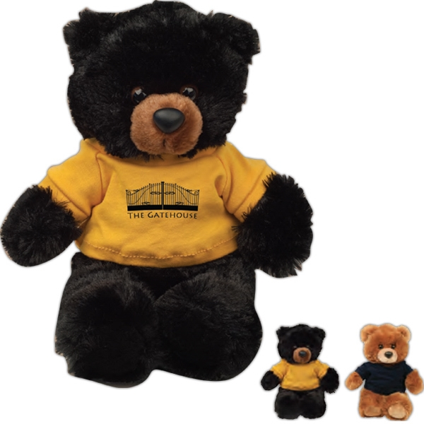 "Buster Chelsea Teddy Bear (tm) - Teddy Bear With Overall Size 10"" Photo"
