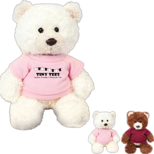 "Baxter Chelsea Teddy Bear (tm) - 8"" Overall Size Plush Stuffed Bear Photo"