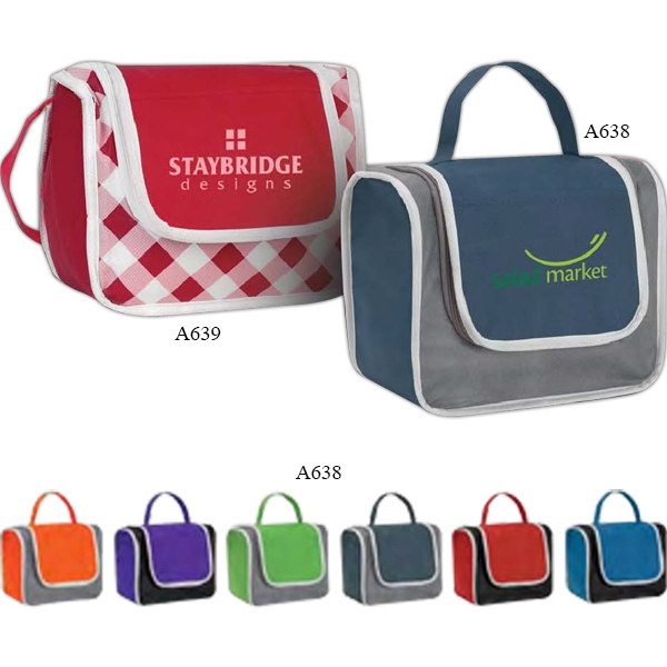 Poly Pro - Polypropylene Lunch Box With Front Pocket Photo