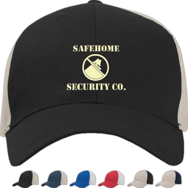 Image Lock - Polyester Baseball Cap, Structured Photo