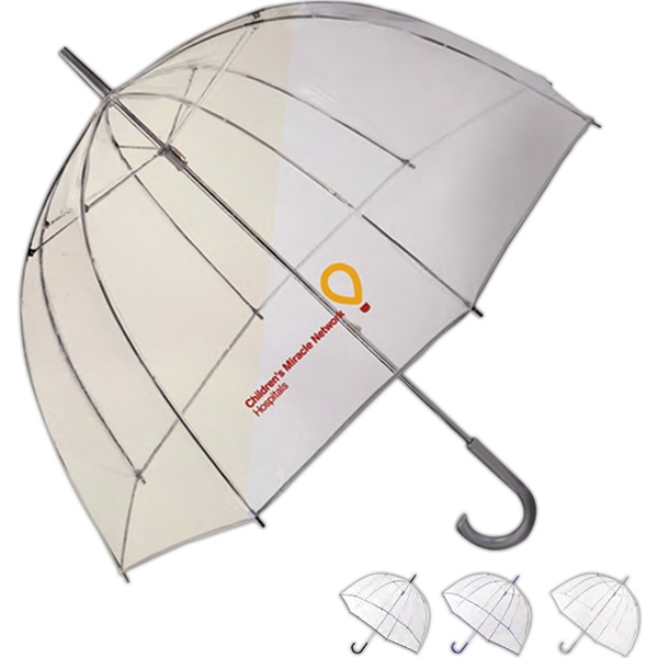 Totes (r) Bubble - Stick Umbrella With Retro Dome Shape Photo