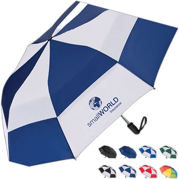 Totes (r) Stormbeater (r) - Auto Open Folding Umbrella With Windproof Double Canopy That Resists Inversion Photo