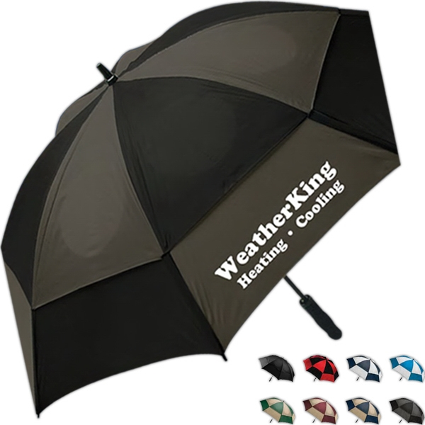 Wind Tamer - Umbrella With Double Canopy Windproof Frame Photo