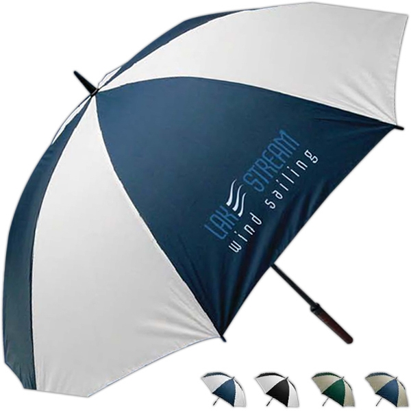 Sportsmaster - Golf Umbrella With Fiber Glass Shaft And Wooden Handle Photo