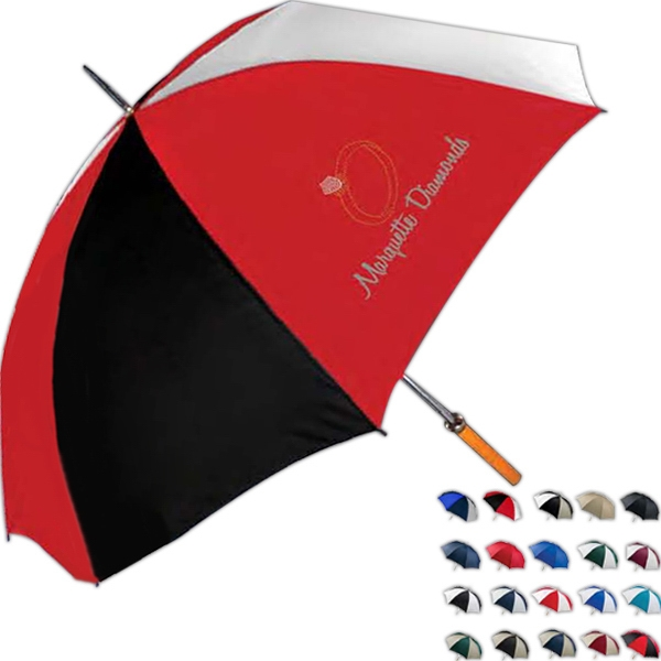 "Pro-am - Golf Umbrella With Double Ribbed Frame. 60"" Arc Photo"