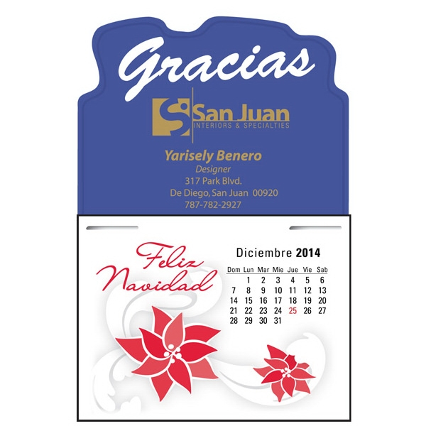 Press-n-stick (tm) - Spanish 13 Month Calendar Pad Photo