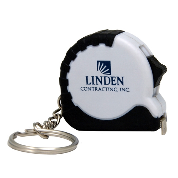 Handy 3 Foot Retractable Mini Tape Measure With Key Ring Photo