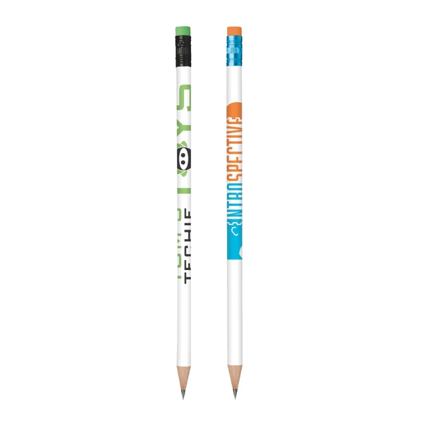Bic (r) Color Connection - Pencil With #2 Graphite Lead, Mix And Match Ferrule And Eraser Colors Photo