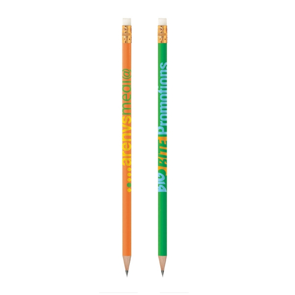 Bic (r) - Wood Barrel Pencil With #2 Graphite Lead, Gold Ferrule And White Eraser Photo
