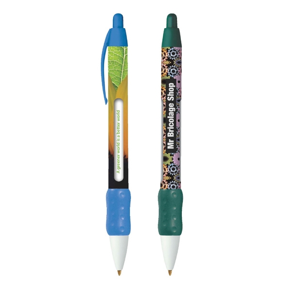 Bic (r) Widebody (r) - Retractable Ballpoint Message Pen With Six Rotating Messages Photo