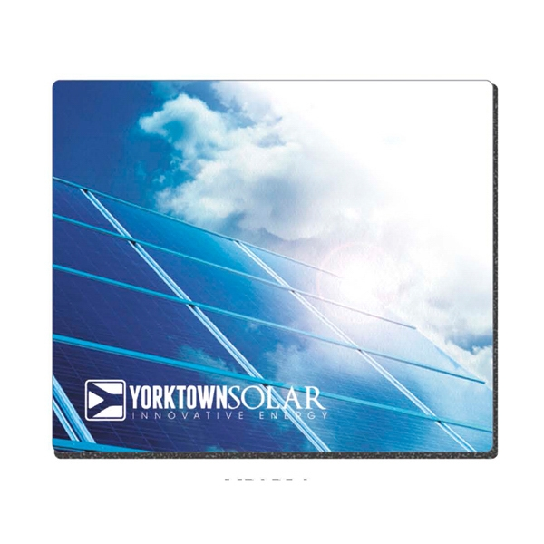 "7 1/2"" X 8 1/2"" - Fabric Mouse Pad With Antimicrobial Preservative Incorporated In Photo"