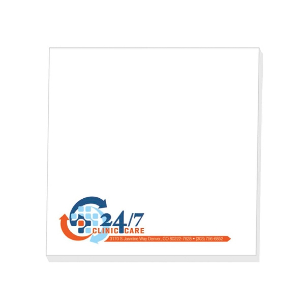 "50 Sheets - Adhesive Notepad, 4"" X 4"". Always In Stock Photo"