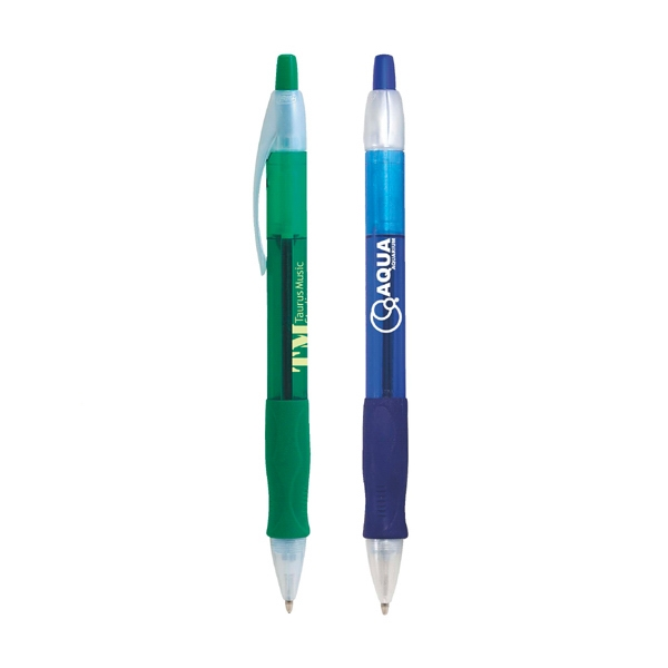 Bic (r) Velocity (r) Bic (r) - Super Smooth Ballpoint Pen With Black Gel Ink And Contoured Grip Photo