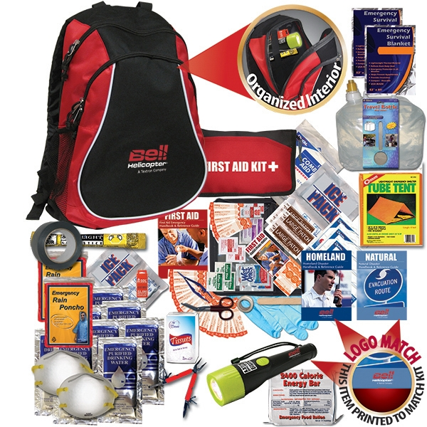 This Disaster Back Pack Has A Variety Of Critical Survival Items Photo