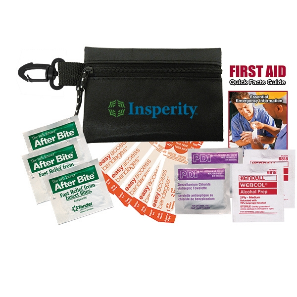 Best Selling First Aid Kit In A Reusable Zippered Pouch Photo