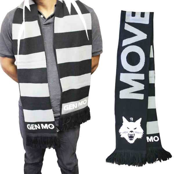 "Knitted Stadium Scarf 62"" x 7"" (High Definition)"