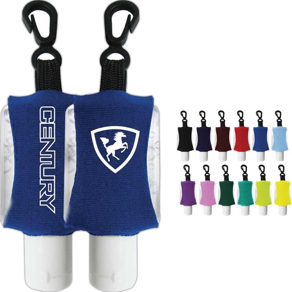 Antibacterial Hand Sanitizer Gel With Custom Leash/neoprene Sleeve Photo