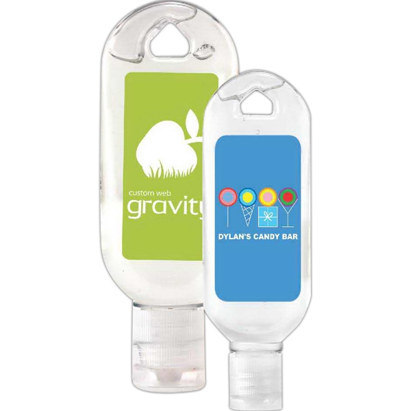 Tottle Bottle Antibacterial Hand Sanitizer Gel In Translucent Tottle Bottle Photo