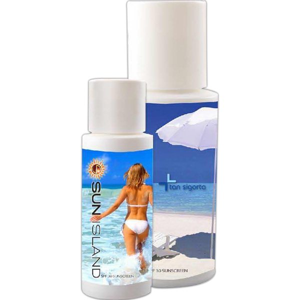 1 Oz - Tropical Scented Spf 30 Sunblock Sunscreen Lotion Photo