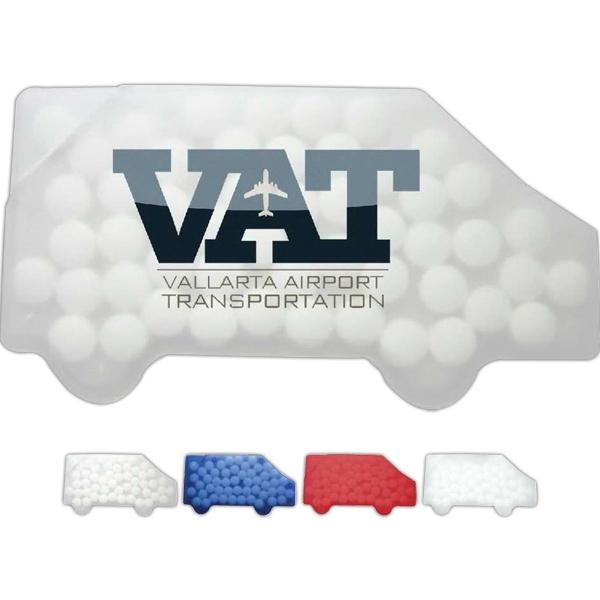 Sugar Free Peppermints In A Truck Shaped Container Photo