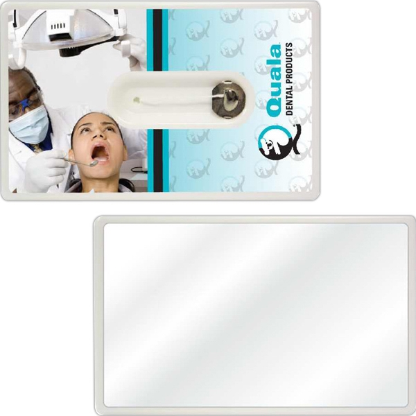Credit Card Style Dental Floss With Mirror Photo