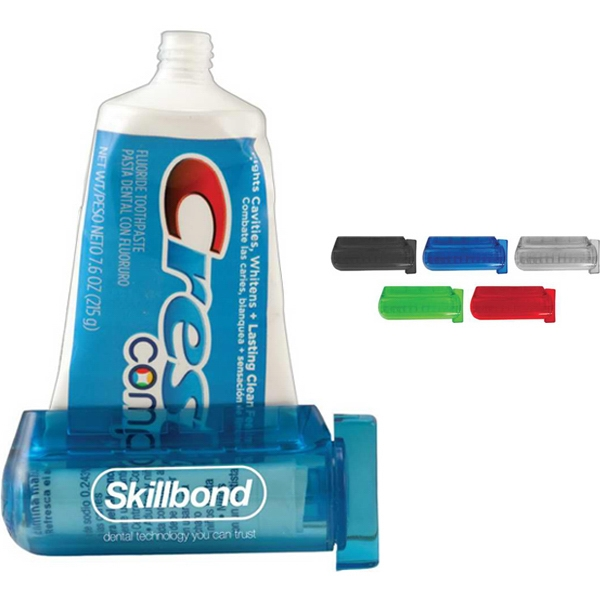 "Ez-squeeze Toothpaste Dispenser. 3.25"" X 1.25"" Photo"