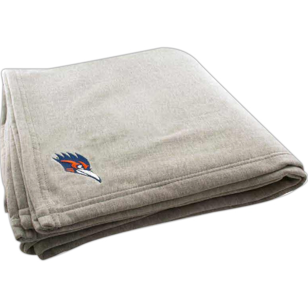 Embroidered Over Sized Jersey Fleece Blanket  Photo