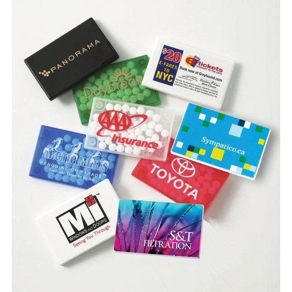 BEST PRICE! Rectangular Mint Card with MicroMints (R)