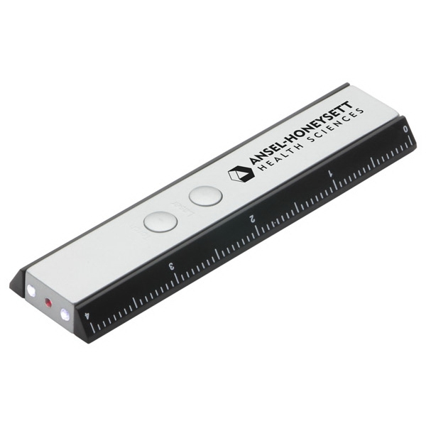 Ruler With Led Light And Laser Pointer Photo