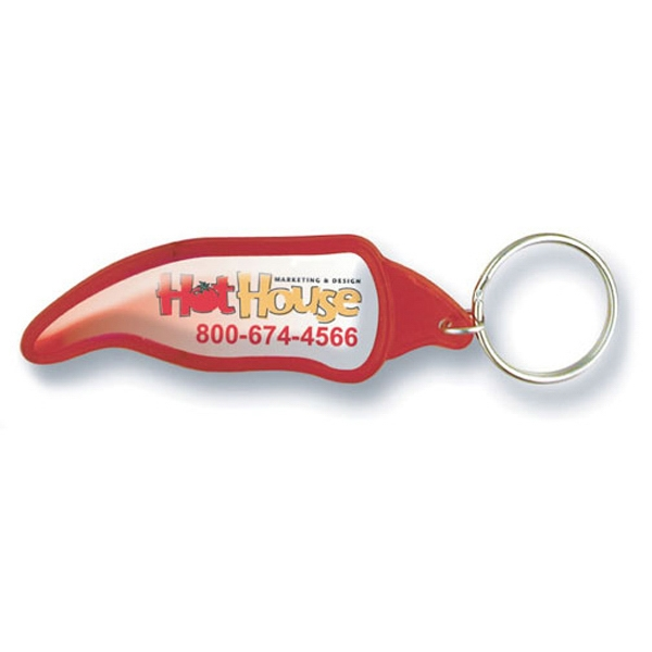 Chili Pepper Key Tag