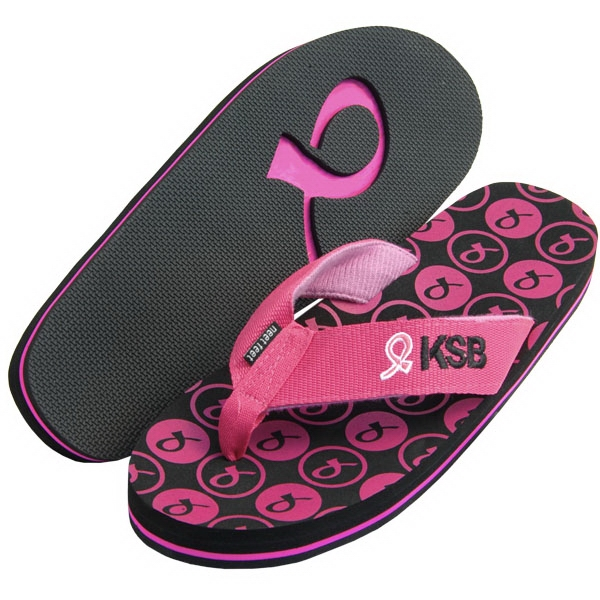 Bali - Surf Style Flip Flop With A Recessed 3 Layer Sole, Arch Support And Fabric Straps Photo